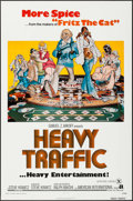 "Movie Posters:Animation, Heavy Traffic & Other Lot (American International, 1973). One Sheets (2)(27"" X 41""). Animation.. ... (Total: 2 Items)"