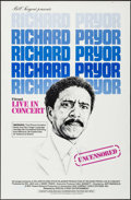 "Movie Posters:Documentary, Richard Pryor: Live in Concert & Other Lot (Warner Brothers, 1979). One Sheets (3) (27"" X 41"") Regular & Review Styles. Docu... (Total: 3 Items)"