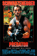 "Movie Posters:Science Fiction, Predator (20th Century Fox, 1987). International One Sheet (26.25""X 39.5""). Science Fiction.. ..."