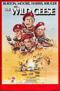 """The Wild Geese & Others Lot (Allied Artists, 1978). One Sheets (3) (27"""" X 41""""). War. ... (Total: 3 Ite..."""