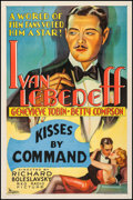 "Movie Posters:Drama, The Gay Diplomat (RKO, 1931). One Sheet (27"" X 41"") Working Title:Kisses by Command. Drama.. ..."