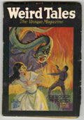 Pulps:Horror, Weird Tales (Pulp) July, 1926 (Popular Fiction, 1926) Condition: VG-. Contains the first published story by Clare Winger Har...