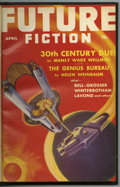 "Pulps:Science Fiction, Future Fiction (Pulp) Signed Bound Volume (Columbia, 1941). Thiscopy is inscribed by noted pulp editor Robert ""Doc"" Lowndes..."