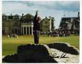 """Golf Collectibles:Autographs, Arnold Palmer Signed Oversized Photograph. Impressive 11x13"""" printfeatures American golf icon Arnold Palmer and sports a s..."""