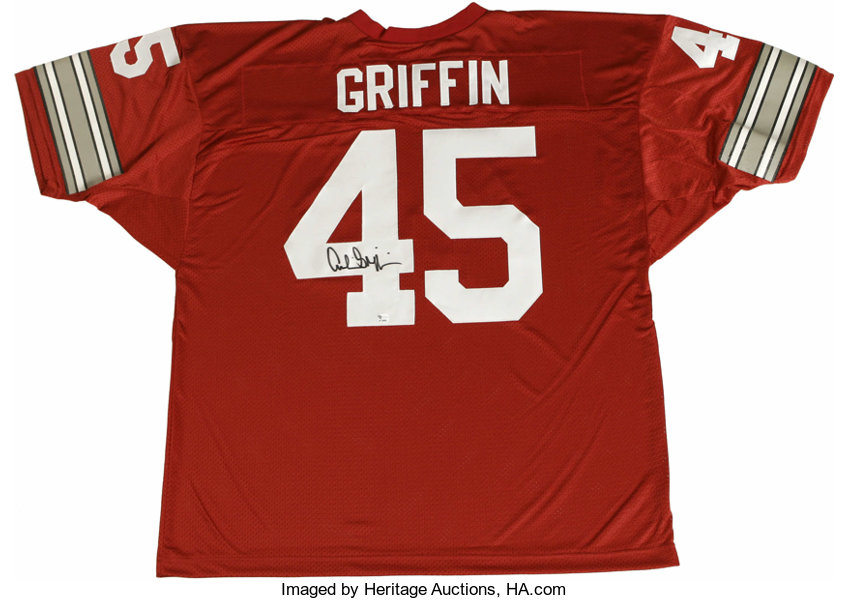 7bf756f2d Archie Griffin Signed Jersey. Ohio State football legend