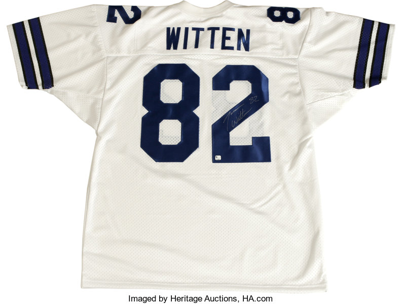 separation shoes 8a024 ee68f Jason Witten Signed Jersey. After an impressive collegiate ...
