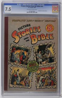 Picture Stories from the Bible #nn Complete Life of Christ (EC, 1945) CGC VF- 7.5 Off-white to white pages. Overstreet 2...