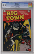 """Golden Age (1938-1955):Crime, Big Town #2 Davis Crippen (""""D"""" Copy) pedigree (DC, 1951) CGC VF+ 8.5 Off-white to white pages. Dan Barry cover. Barry and Wi..."""