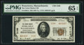 National Bank Notes:Massachusetts, Watertown, MA - $20 1929 Ty. 2 The Union Market NB Ch. # 2108. ...