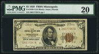 Fr. 1850-I $5 1929 Federal Reserve Bank Note. PMG Very Fine 20