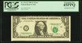 Error Notes:Miscellaneous Errors, Fr. 1913-J $1 1985 Federal Reserve Note. PCGS Extremely Fine 45PPQ.. ...