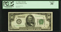 Fr. 2100-I $50 1928 Federal Reserve Note. PCGS Very Fine 30