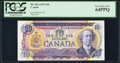 Canadian Currency: , BC-49c-i $10 1971 with Low Serial Number EDA0000250. ...