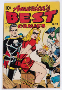 America's Best Comics #24 (Nedor Publications, 1947) Condition: VG