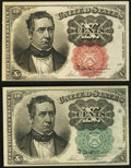 Fractional Currency:Fifth Issue, Fr. 1264 10¢ Fifth Issue Choice New. Fr. 1266 10¢ Fifth Issue AboutNew.. ... (Total: 2 notes)