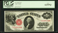Large Size:Legal Tender Notes, Fr. 39 $1 1917 Legal Tender PCGS New 62PPQ.. ...