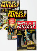 Silver Age (1956-1969):Horror, World of Fantasy Group of 5 (Atlas, 1958-59).... (Total: 5 ComicBooks)