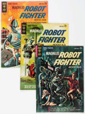 Silver Age (1956-1969):Science Fiction, Magnus Robot Fighter Group of 8 (Gold Key, 1963-69).... (Total: 8 Comic Books)
