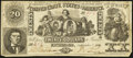 Confederate Notes:1861 Issues, T20 $20 1861 PF-1 Cr. 139.. ...