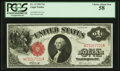 Large Size:Legal Tender Notes, Fr. 37 $1 1917 Legal Tender PCGS Choice About New 58.. ...