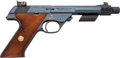 Handguns:Semiautomatic Pistol, High Standard Model 103 Supermatic Citation Semi-Automatic Target Pistol AKA Space Gun....