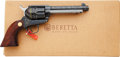 Handguns:Single Action Revolver, Boxed Beretta Stampede Old West Model Single Action Revolver....
