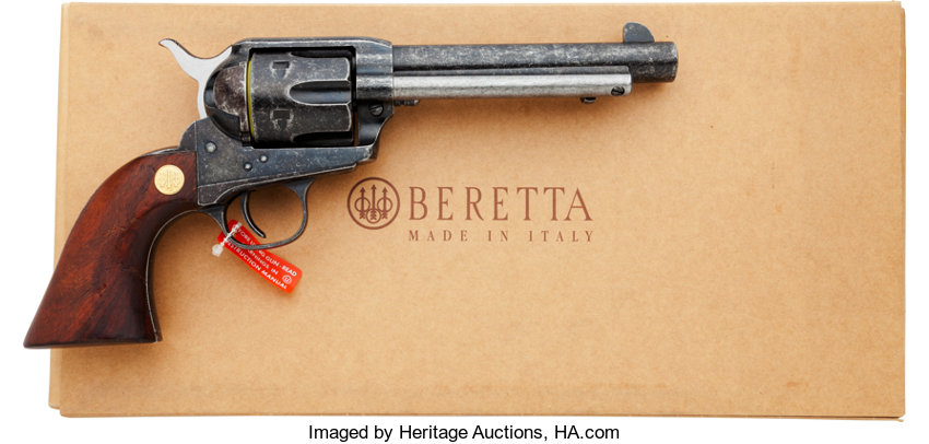 Boxed Beretta Stampede Old West Model Single Action Revolver