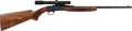 Long Guns:Bolt Action, Belgian Browning .22 Caliber Semi-Automatic Rifle With Bushnell 3Xx 8X Scope....