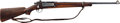Long Guns:Bolt Action, U.S. Springfield Armory Model 1898 Sporterized Krag Bolt Action Rifle With Leather Scabbard....