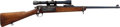 Long Guns:Bolt Action, U.S. Springfield Armory Model 1898 Sporterized Krag Bolt ActionCarbine with Telescopic Sight....