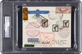 Baseball Collectibles:Others, Early 1930's Babe Ruth Signed Postal Envelope....