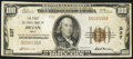 National Bank Notes:Ohio, Bryan, OH - $100 1929 Ty. 1 The First NB Ch. # 237. ...