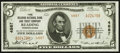 National Bank Notes:Pennsylvania, Reading, PA - $5 1929 Ty. 2 The Reading NB & TC Ch. # 4887. ...
