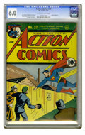 Golden Age (1938-1955):Superhero, Action Comics #37 (DC, 1941) CGC FN 6.0 Off-white to white pages. Origin of Congo Bill. Fred Ray cover. Ray, George Papp, an...