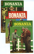 Silver Age (1956-1969):Western, Bonanza Group (Gold Key, 1966-67) Condition: Average VF/NM. Thisgroup contains issues #20, 21, 23, 25, and two copies of 26...(Total: 6 Comic Books)