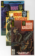Silver Age (1956-1969):Horror, Boris Karloff Tales of Mystery Group (Gold Key, 1970-79) Condition:Average VF/NM. This full short box lot includes Boris ...