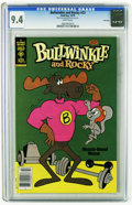 Bronze Age (1970-1979):Cartoon Character, Bullwinkle #23 File Copy (Gold Key, 1979) CGC NM 9.4 White pages.Overstreet 2005 NM- 9.2 value = $18. CGC census 1/06: 1 in...