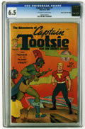 Golden Age (1938-1955):Science Fiction, Captain Tootsie & The Secret Legion #1 Mile High pedigree (TobyPublishing, 1950) CGC FN+ 6.5 Off-white to white pages. Over...