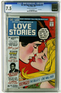 Bronze Age (1970-1979):Romance, DC 100-Page Super Spectacular #5 Love Stories (DC, 1971) CGC VF-7.5 Off-white to white pages. One of the five most valuable...