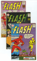 Silver Age (1956-1969):Superhero, The Flash Group (DC, 1962-63) Condition: Average VG/FN. Group includes: #130 (first appearance of the Gauntlet of Super-Vill... (Total: 7 Comic Books)