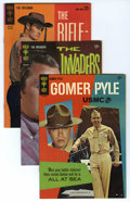 Silver Age (1956-1969):Miscellaneous, Gold Key Silver Age Group (Gold Key, 1963-67) Condition: Average VF. Comics based on great television shows from the 60s com... (Total: 10 Comic Books)