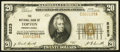 Topton, PA - $20 1929 Ty. 1 The NB of Topton Ch. # 8223