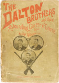 Books:Biography & Memoir, [Anonymous]. The Dalton Brothers and Their Astounding Career ofCrime by an Eye Witness. Chicago: Laid & Lee, 18...