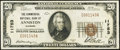 National Bank Notes:Alabama, Anniston, AL - $20 1929 Ty. 1 The Commercial NB Ch. # 11753. ...