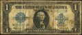 Large Size:Silver Certificates, Fr. 237* $1 1923 Silver Certificate Star Very Good.. ...