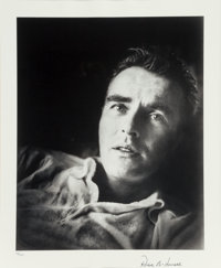 Roddy McDowall (British, 1928-1998) Group of Five Portraits, 1964-1979 Two color photographs; three gelatin silver, pr...