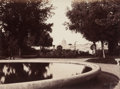 Photographs:Historical Photographs, Robert Macpherson (British, 1811-1872). View of Rome from the French Academy, circa 1863. Albumen. 6-5/8 x 9 inches (16....