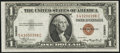 Fr. 2300 $1 1935A Hawaii Silver Certificate. About Uncirculated