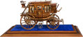 Western Expansion:Cowboy, Simply the Finest Model Stagecoach We Have Ever Seen!...