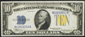 Fr. 2309 $10 1934A North Africa Silver Certificate. Extremely Fine-About Uncirculated